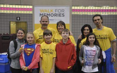 KJH Cares Walks for Memories in support of Alzheimer Society