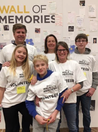 Alzheimer's Walk for Memories
